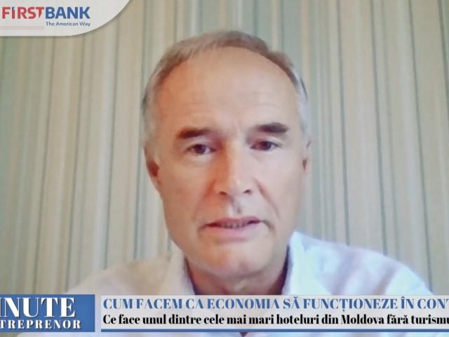 Lucian Grecu, proprietarul hotelului Unirea Iaşi: Anul acesta a fost mai bun decât 2020, ne aşteptăm să închidem cu venituri mai mari cu circa 50%