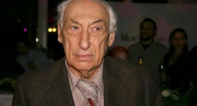 Actorul de teatru şi film Theodor Danetti a murit la vârsta de 89 de ani
