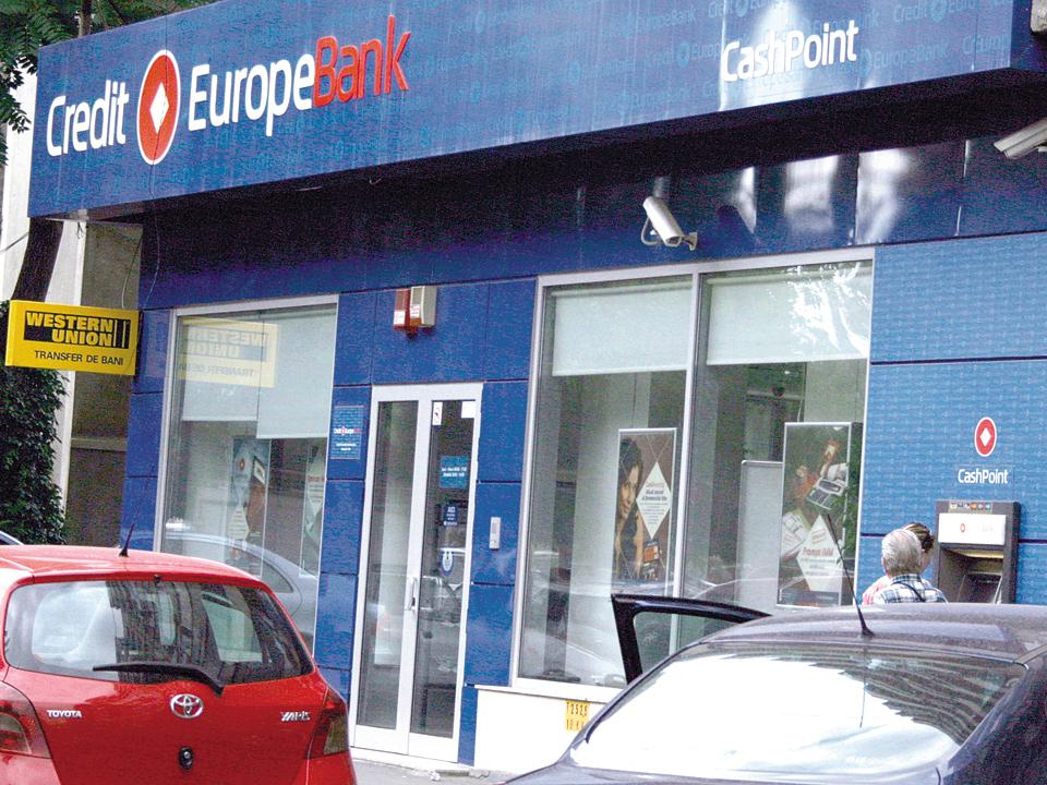 Credit Europe Bank îşi reduce capitalul cu circa 200 mil. lei pentru a acoperi pierderile din anii trecuţi