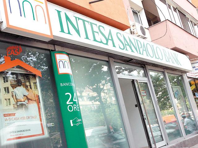 Italienii de la Intesa urcă pe locul 11 în topul băncilor din România, cu o cotă de piaţă de 2%