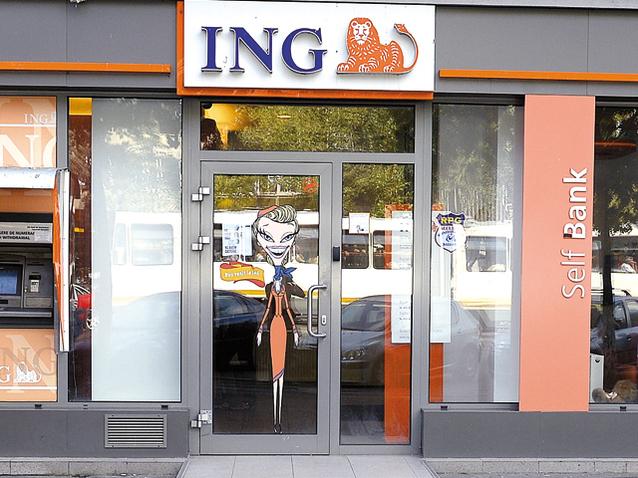 """ING Bank continuă dezvoltarea pe online: casieriile tradiţionale sunt înlocuite cu ATM-uri speciale, iar serviciul """"Plată către un prieten"""" este simplificat"""