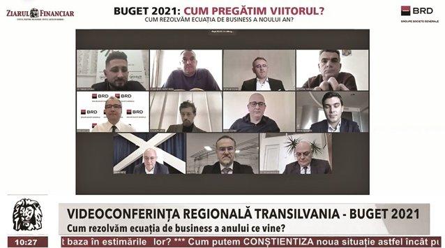"""Videoconferinţa ZF BRD - Buget 2021 - Cum pregătim viitorul? Cum rezolvăm ecuaţia de business a noului an? Perspectivele economice pentru anul acesta sunt optimiste, dar e nevoie de prudenţă: """"Această revenire a economiei este fragilă, de aceea ea trebuie"""