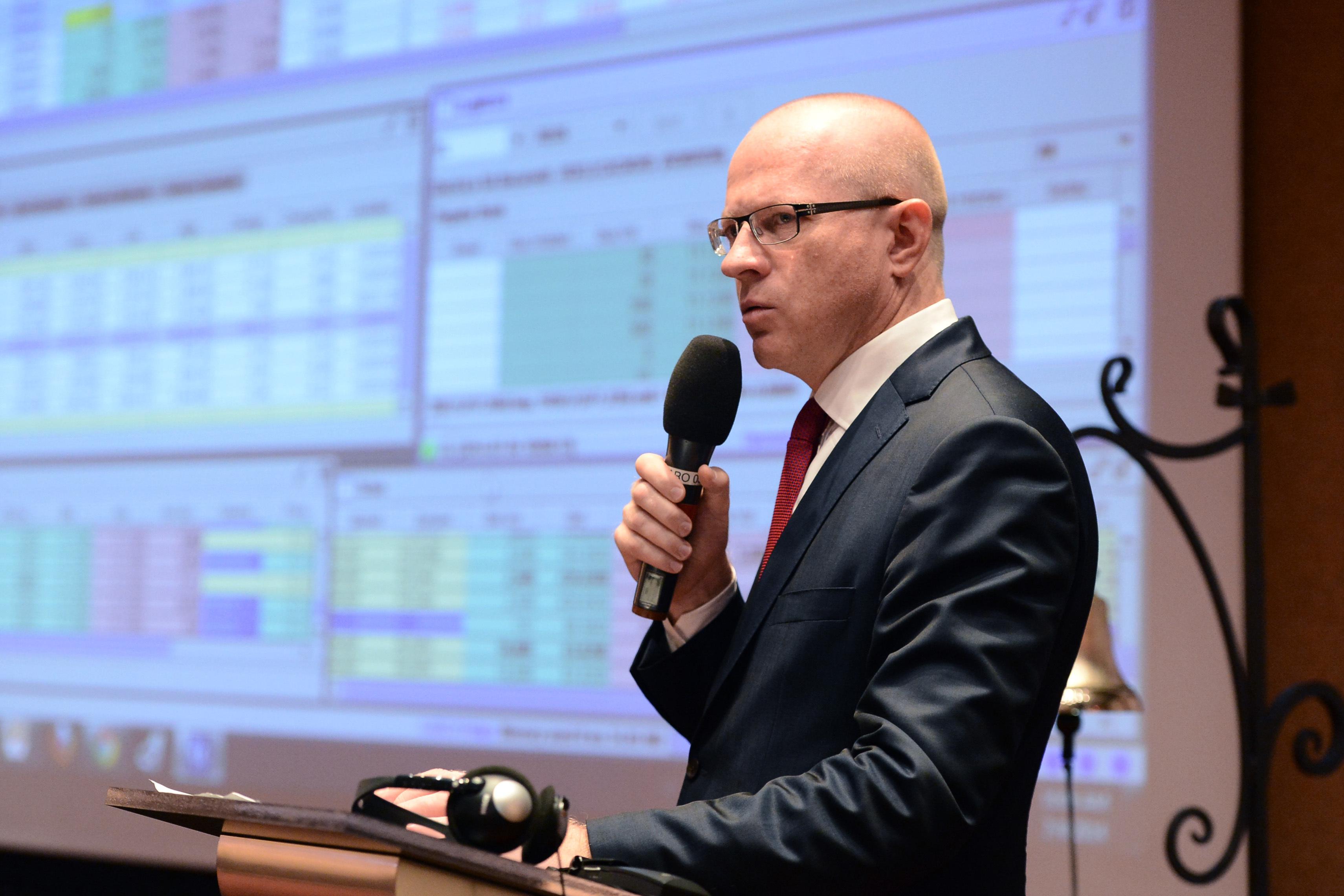 Sobolewski, CEO-ul BVB:  Dacă nu reuşim acum, nu vom avea niciodată în România o piaţă de capital semnificativă