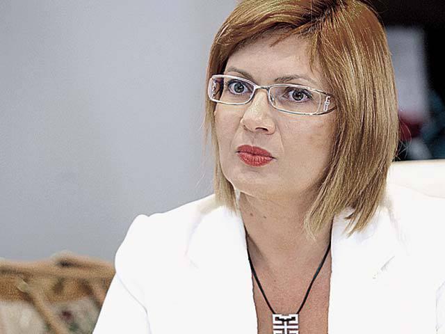 Carmen Adamescu, directorul general al Unirea Shopping Center, are blocate acţiuni de 6 mil. lei