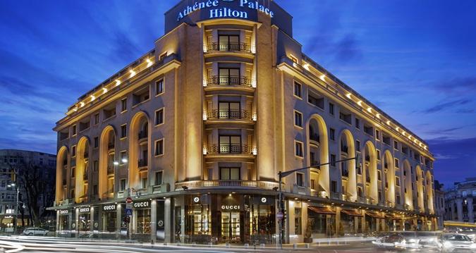 Tehnofrig Palace vinde 1,2 milioane acţiuni Athenee Palace Hilton