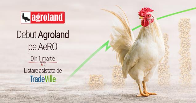 Agroland Timişoara intră la bursa de la Bucureşti ca o companie cu o valoare de piaţă de 233 mil. lei. Tranzacţii de 6,6 mil. lei în doar 30 minute, un nou record pentru o companie antreprenorială. Acţiunile AG, explozie de 340% faţă de plasamentul privat