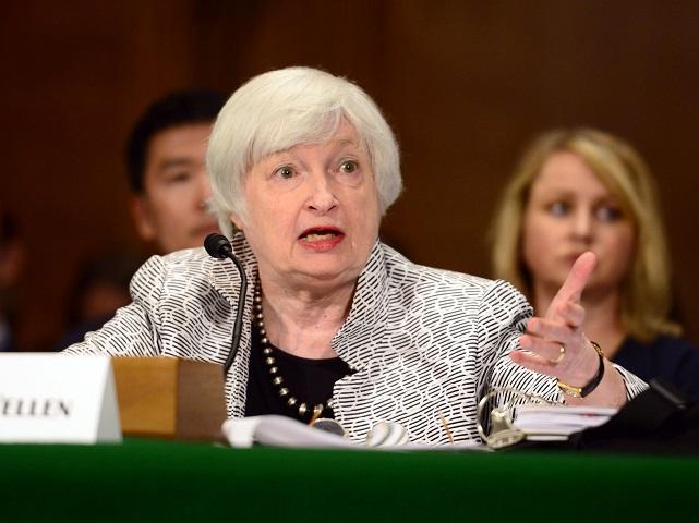 """Bursa americană, în scădere accelerată, după ce """"ministrul de Finanţe"""" Janet Yellen a avertizat că dobânzile de referinţă ar putea reîncepe să crească. Indicele NASDAQ, minus de peste 2,8%. Bursele europene au închis toate pe roşu. La Bucureşti, indicele BET a înregistrat o creştere de peste 1%, propulsată de acţiunile băncilor"""