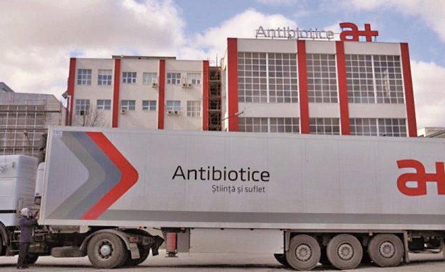 Producătorul de medicamente Antibiotice Iaşi încheie S1/2021 cu afaceri de 161 mil. lei, plus 10% şi profit net de 19,3 mil. lei