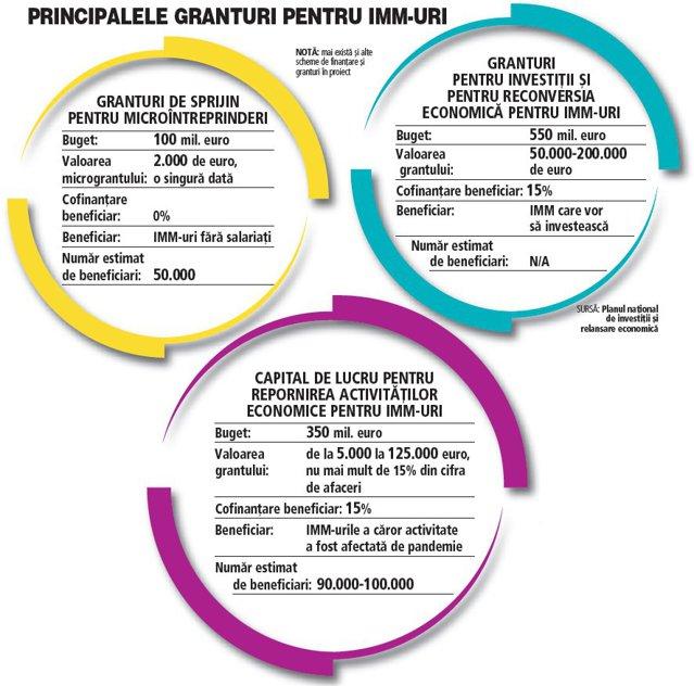 Ce zic antreprenorii despre granturile de peste 1 mld. euro. Banii pentru IMM-uri vor fi o gură de oxigen pentru aceste afaceri. Fără aceste fonduri câteva mii de companii ar fi dispărut