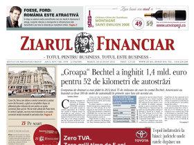 ZF la 20 de ani. Evenimentul anului 2012: Proiectul autostrăzii Bechtel, un eşec de 1,4 mld. euro. Infrastructura azi în România: un eşec de zeci de miliarde de euro anual