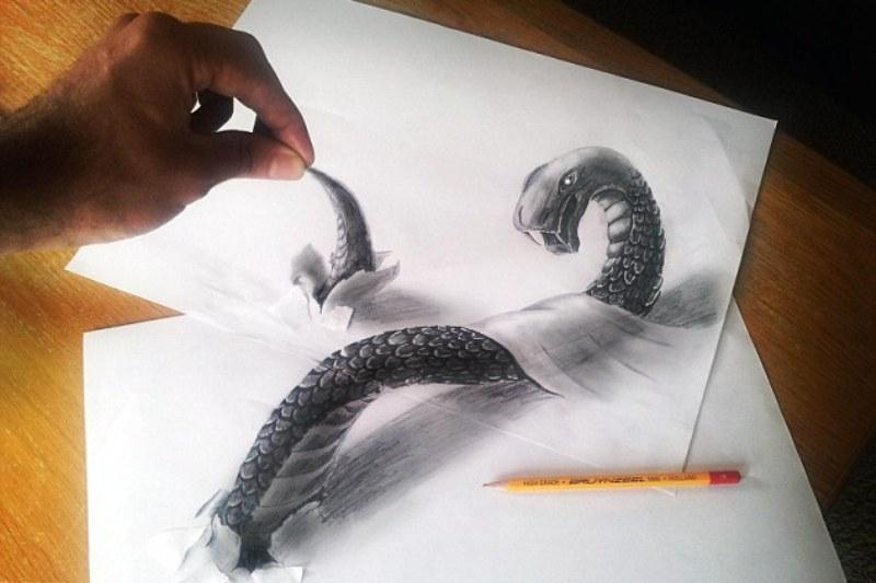 Galerie Foto Desene 3d Realizate Doar Din Creion Video