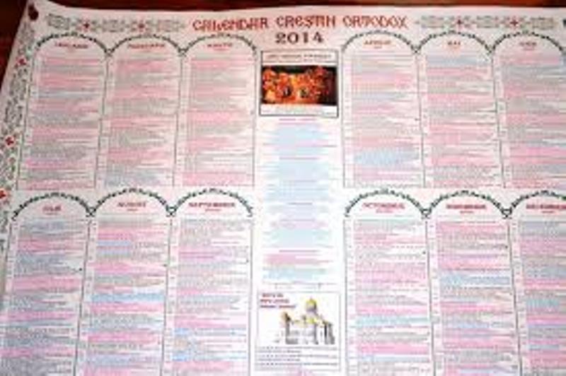 Calendar Crestin Ortodox.Calendar 2014 Ce Sărbători Noi Apar In 2014 In Calendarul Crestin