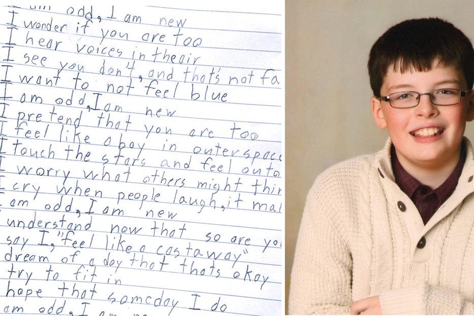 Un Copil Suferind De Autism A Uimit O Lume Ntreg Ce Poezie Scris