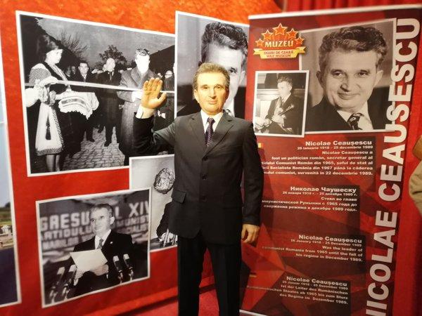 Nicolae Ceauşescu din ceară