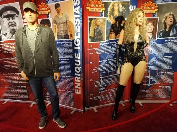 Enrique Iglesias şi Beyonce din ceară