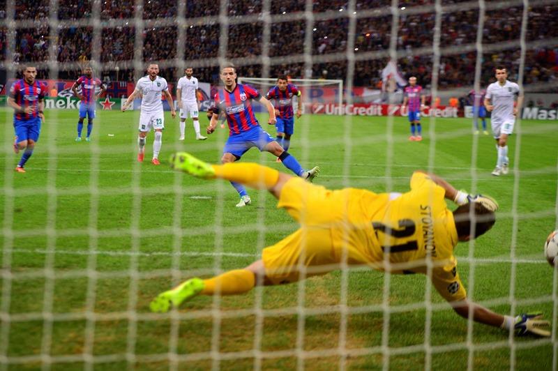 STEAUA - LUDOGORETS 1-0. Chipciu înscrie golul victorie în minutul ...