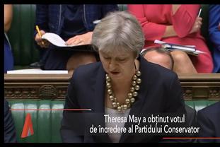 THERESA MAY rămâne lider al Partidului Conservator şi premier al Marii Britanii: Voi oferi oamenilor Brexitul pentru care au votat