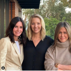 Jennifer Aniston, Courteney Cox şi Lisa Kudrow
