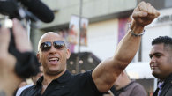 "Vin Diesel, la premiera filmului ""Guardians Of The Galaxy"""