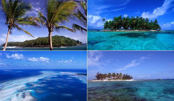 Destinatii pentru romantici: Insulele pustii