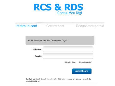 Facturile RCS & RDS pot fi platite si online, de la 1 august