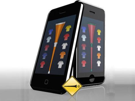 Cea mai populara aplicatie pentru telefoane mobile este... Vuvuzela 2010!