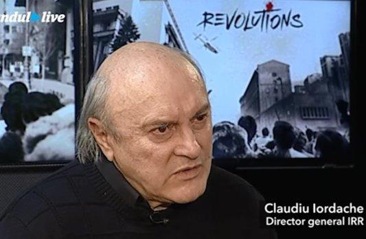 """Claudiu Iordache, invitat la GÂNDUL LIVE. """"Ar fi trebuit să susţin ca Punctul 8 de la Timişoara să se fi aplicat în societatea românească. I-am fi împiedicat să pună mâna pe România"""""""