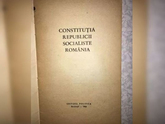 Ultima Constituţie comunistă, un instrument folosit pentru iluzii şi control (Partea I)