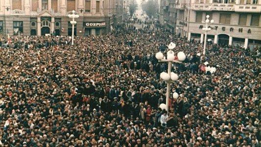 15 decembrie 1989, Timişoara. Drumul spre libertate a început în Piaţa Sfânta Maria | VIDEO