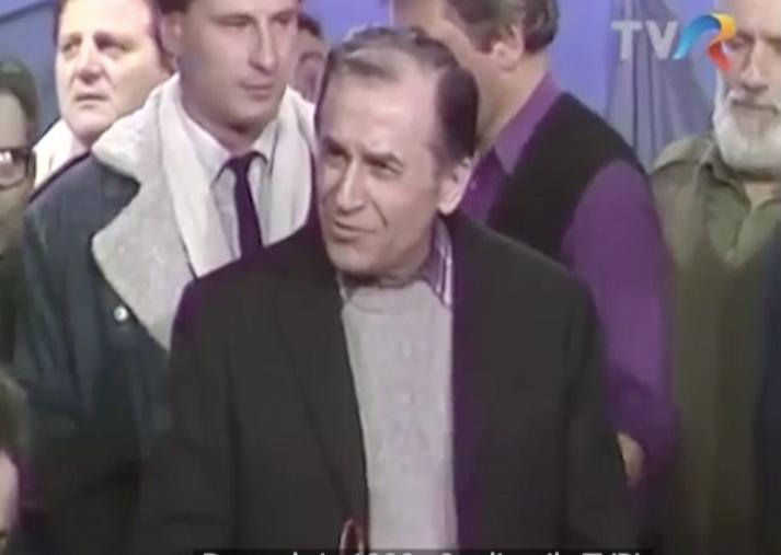 Personajul zilei - Ion Iliescu