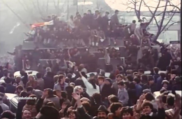 Mesajul lui Iliescu despre revoluţie - 25 decembrie