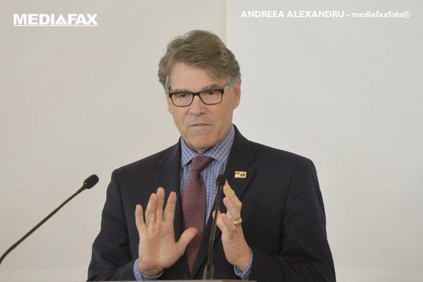 Rick Perry, Secretarul Energiei al SUA: Europa se luptă cu provocări în domeniul energiei. Trebuie diversitate