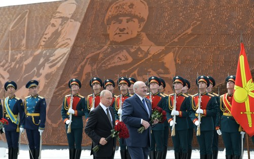 The Belarus front and Marshal Disinformation