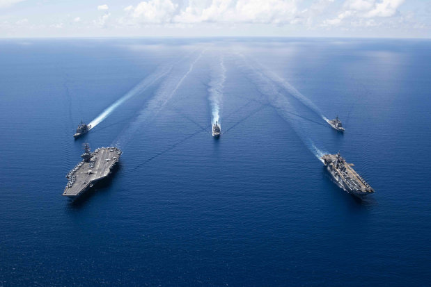 Possible military confrontation in the South China Sea?