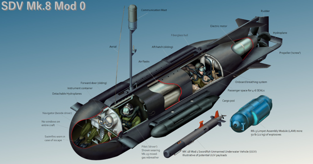 Minisubmarines For The Undetected Insertion And Extraction Of Naval Defence And Security Monitor