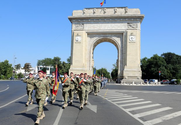Romania is the only country that holds a military parade following the Afghanistan mission