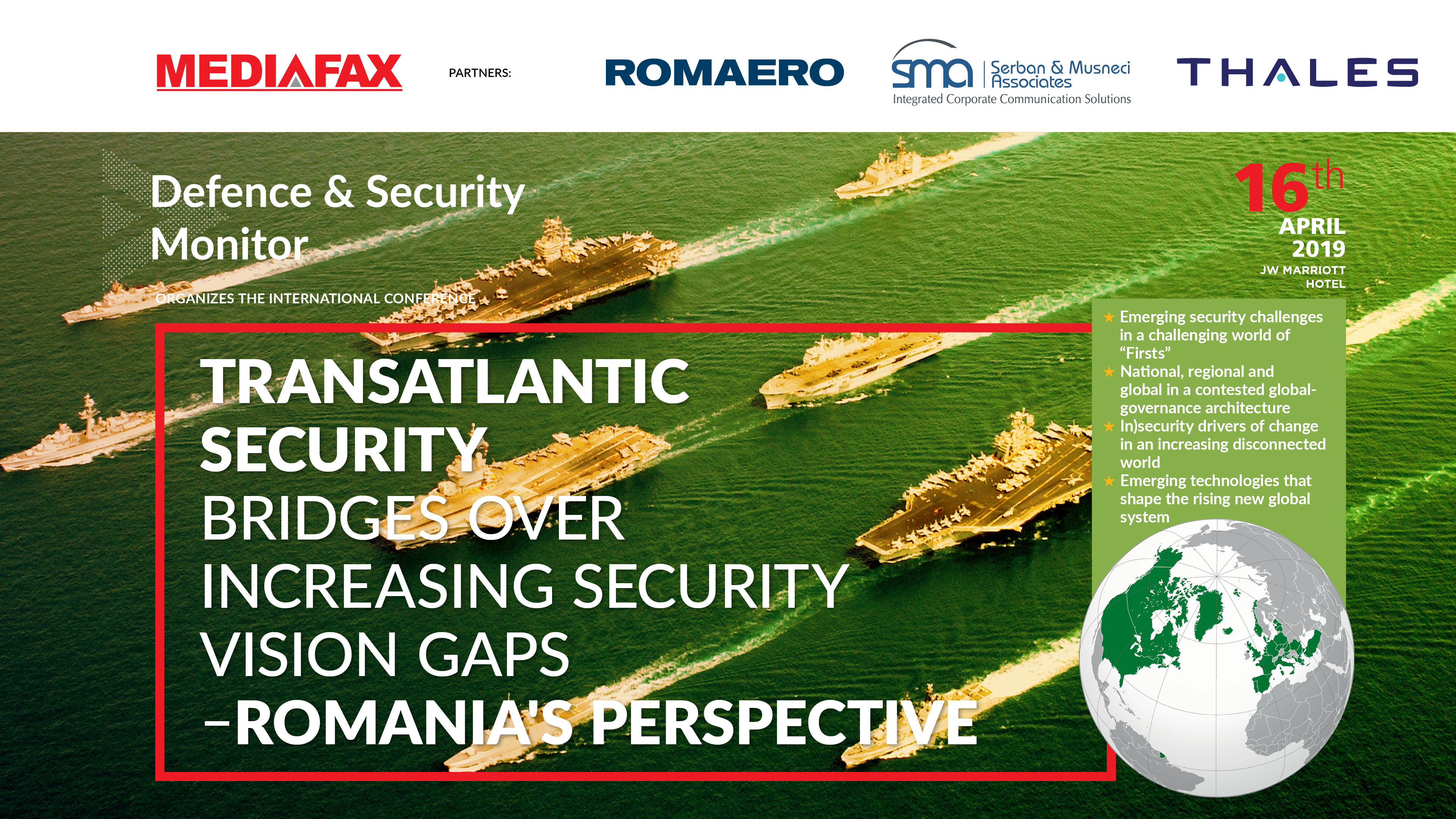 Transatlantic Security Bridges Over Increasing Security Vision Gaps - Romania's Perspective