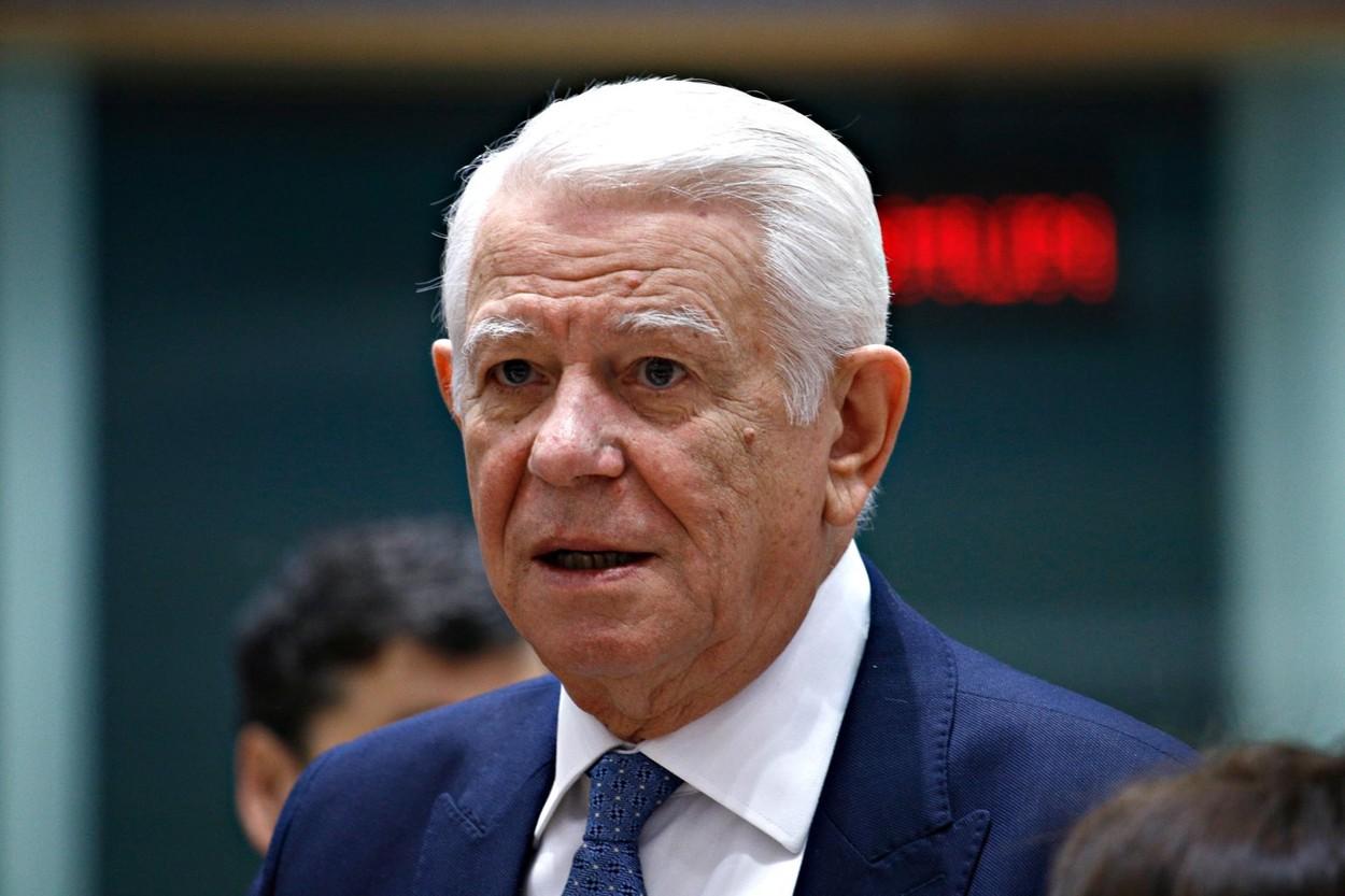 VIDEO Teodor Meleşcanu, audiat la DNA în dosarul schimbării apărării la CEDO în cazul Dragnea vs.România: Nu am avut nicio discuţie cu domnul Dragnea pe nicio tema