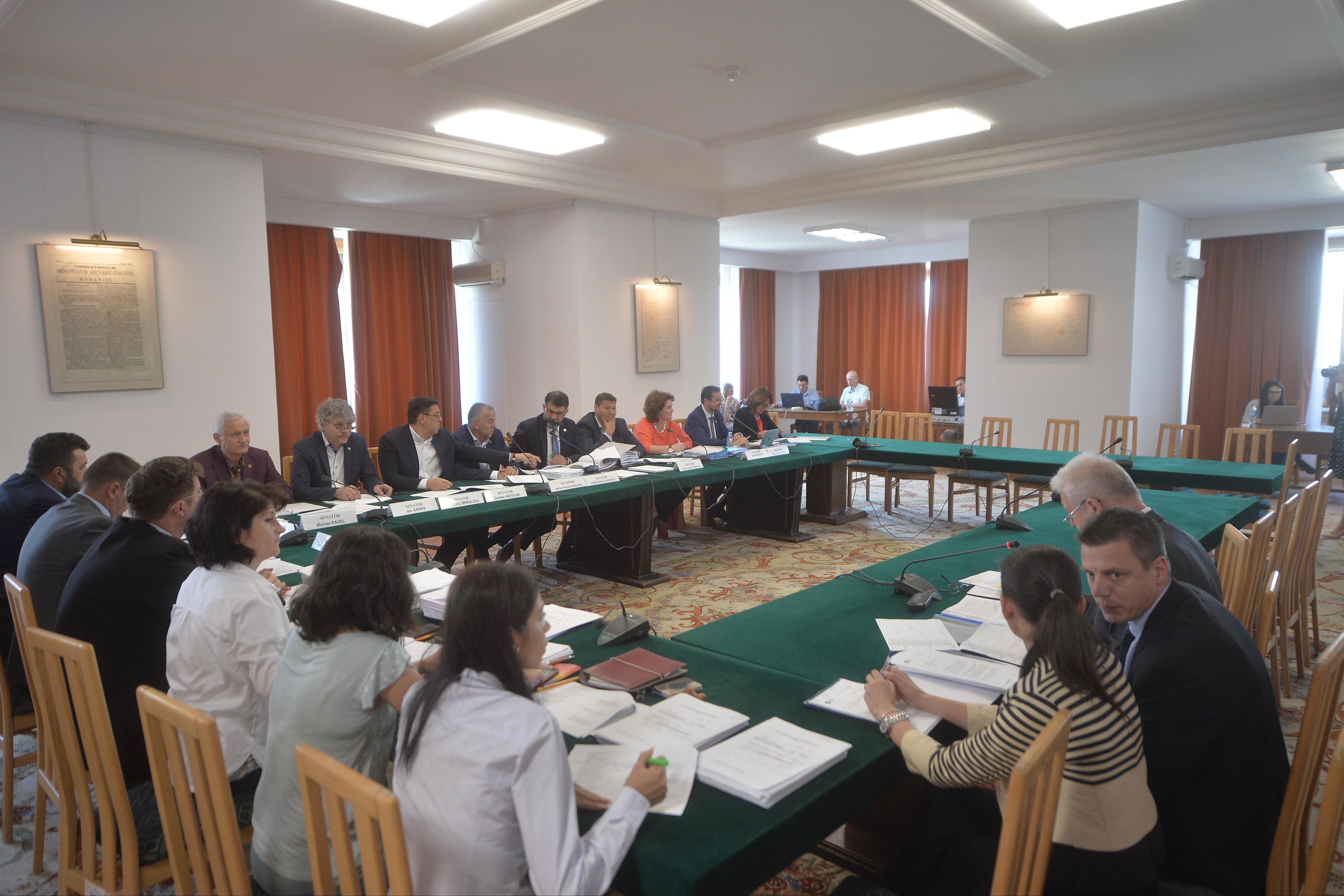 BREAKING Comisia juridică a Senatului a respins OUG privind alegerile anticipate. Majoritate ad-hoc PSD-UDMR-ALDE