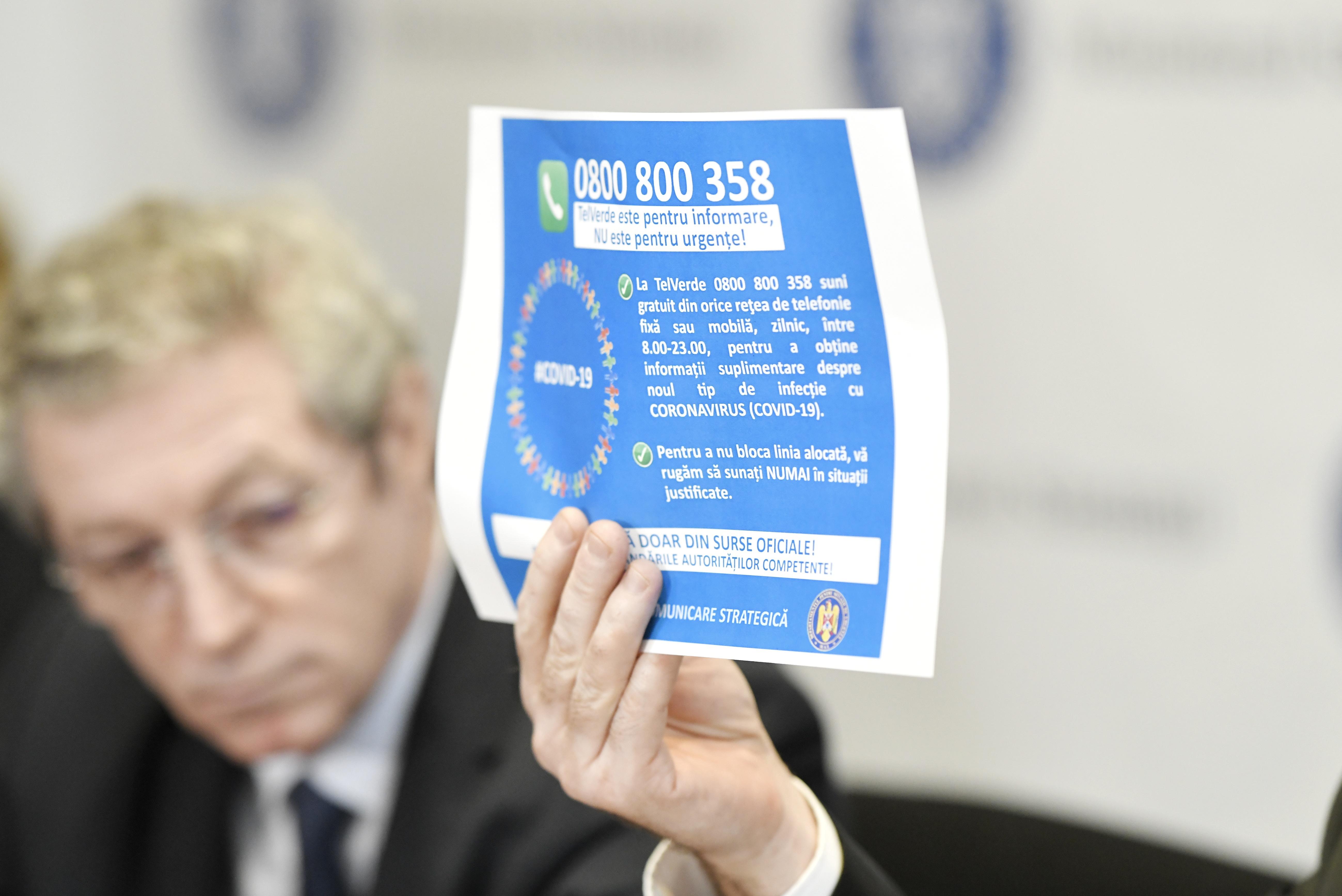 ALERTĂ Trei cazuri de coronavirus ACUM în România. Tânărul din Gorj, confirmat cu virusul Covid-19, este în continuare asimptomatic/ Bilanţ: 182 de persoane, în carantină, iar 8.231 sunt izolate la domiciliu