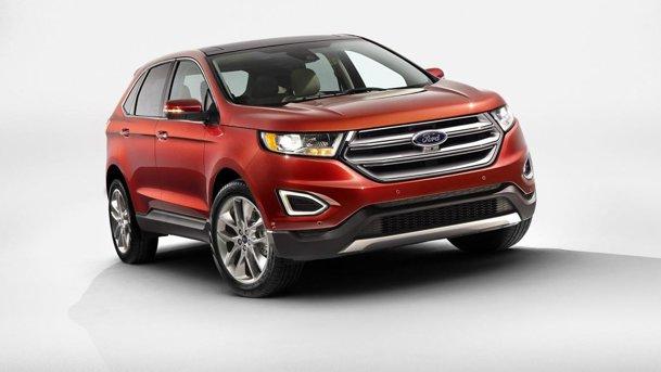 Noul Ford Edge Imagini Si Informatii Oficiale Cu Rivalul Lui Volkswagen Touareg