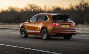 Noul Bentley Bentayga Speed are 635 CP şi atinge o viteză maximă de 306 km / h - VIDEO - GALERIE FOTO