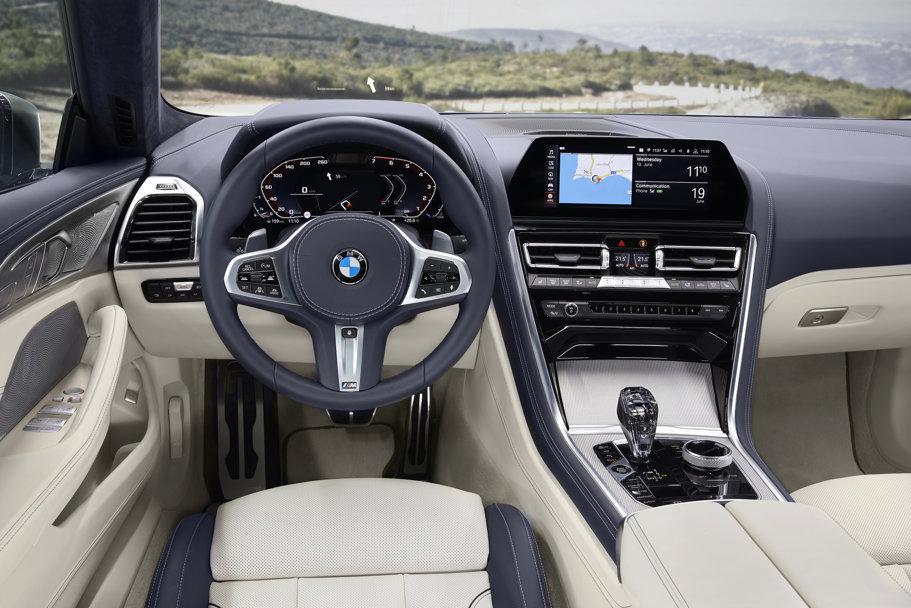 Noul BMW Seria 8 Gran Coupé este cel mai spectaculos model sport cu patru uşi - VIDEO-GALERIE FOTO