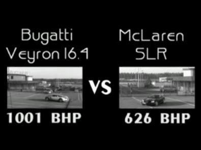 Video - Veyron vs. SLR
