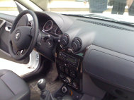 Dacia Duster din interior