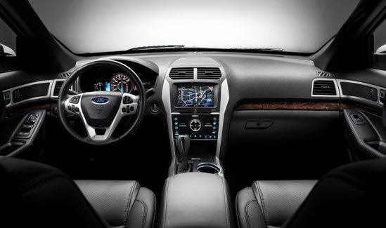 Noul Ford Explorer - interior