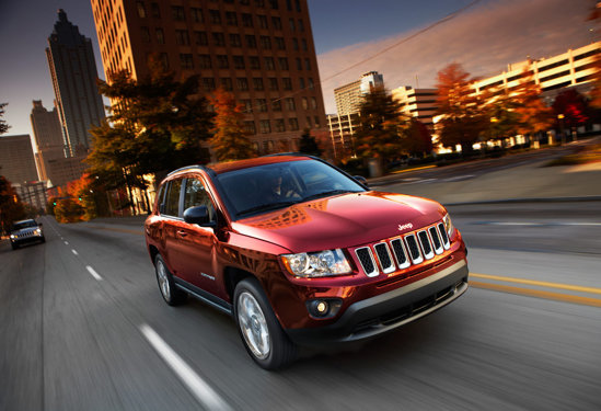 Jeep Compass are parte de un facelift a la Grand Cherokee in 2011