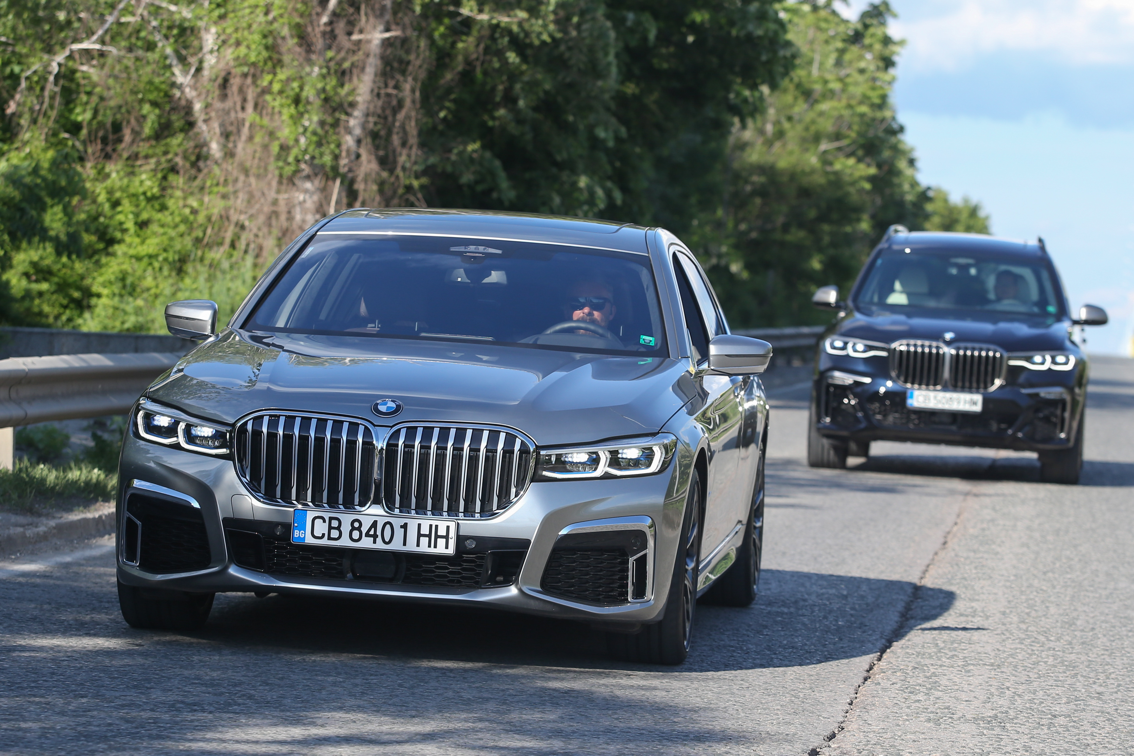 Test Drive Bmw X7 And Bmw 7 Series Facelift How Can You Choose