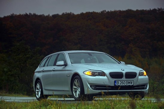 BMW Seria 5 Touring se dovedeste un break de clasa, impunator si dinamic