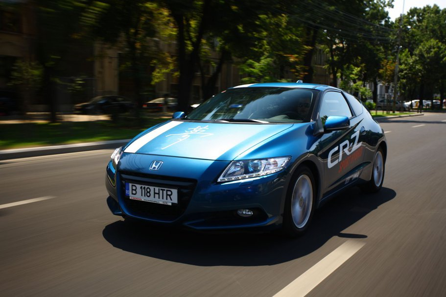 Test scurt: Honda CR-Z Sport Hybrid